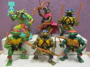 1988 Teenage Mutant Ninja Hero Turtles Figuren TMNT Napoleon Bonafrog Splinter