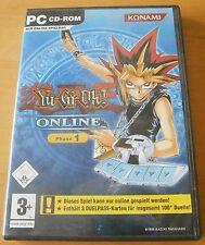 Yu-Gi-Oh Online, Phase 1, Konami, PC CD-rom, mit 3 Duellpass-Karten  Nur Online