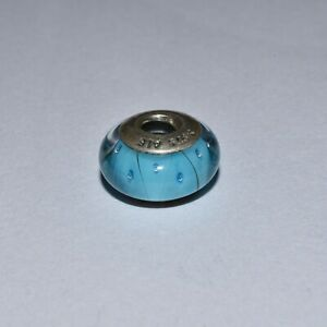 Pandora Sterling Silver Turquoise Looking Glass Charm 790924