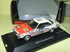 OPEL COMMODORE B GS/E RALLYE RAC 1973 BEAUMONT SCHUCO 1:43