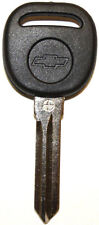 NEW UNCUT CADILLAC CHEVY TRANSPONDER CHIP IGNITION KEY B111-PT W/Chevy Logo