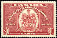 Canada Mint NH 1938 VF Scott #E8 20c Special Delivery Stamp