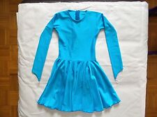 Blue BalleyDance Long Sleeve Dress