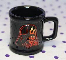 2005 Star Wars 3D Darth Vader Shot Glass Mini Mug Flame Ceramic Revenge of Sith