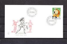 Ef/ Luxembourg  enveloppe   sport pour tous  1980