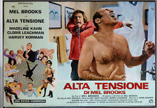 ALTA TENSIONE High Anxiety FOTOBUSTA POSTER AFFICHE MEL BROOKS COMIC PARODY 1977