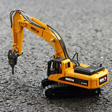 Mini Machines Demolition Excavator Toy Construction Vehicles Movable Model 1:50