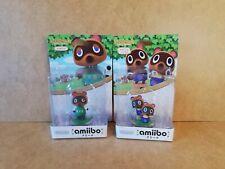 NEW Rare Nintendo Amiibo Figures, Japan Animal Crossing Timmy & Tommy + Tom Nook