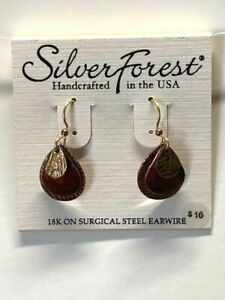Silver Forest Handcrafted in the USA Earrings NEW (A6)