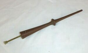 Vtg Mid Century Welby Starburst Clock Wood Metal Ray Spike ONLY