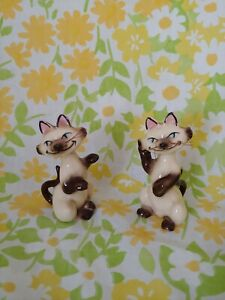 Disney Lady And The Tramp Si And Am Vintage Ceramic Salt And Pepper Shakers