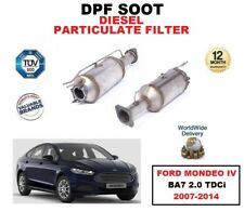 DPF DIESEL SOOT PARTICULATE FILTER for FORD MONDEO IV BA7 2.0 TDCi 2007-2014
