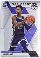2019-20 Panini Prizm Mosaic Ja Morant Rookie Card RC NBA Debut Memphis Grizzlies
