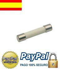 Fusible microondas 12A /250v,  6x30 mm. fussionner,fusibile,fuse,sicherung