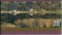 Australia booklet 1992 SG1319-1320 Wetlands MNH