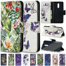 For Samsung Galaxy A50 A70 A40 M20 M30 Pattern Magnetic Leather Slim Case Cover