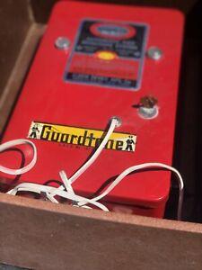 50s Ademco Fire Station   Burglar Alarm Bell Works Salesman Sample  Steampunk