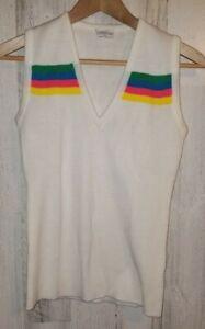 Vintage Head Tennis Sportswear Acrylic Women's Vest Size Small