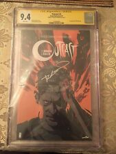 Outcast # 1 cgc 9.4 Signature Series Signed by Robert Kirkman 1st print
