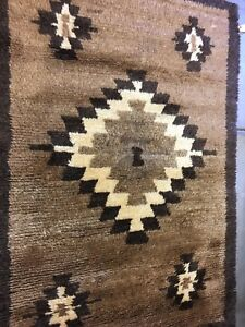"Anatolian Turkish rug,natural Wool.4""6X6""6 high pile,excellent Condition"