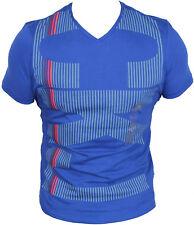 New Calvin Klein Mens T-Shirt in Bright Cobalt Colour Size M