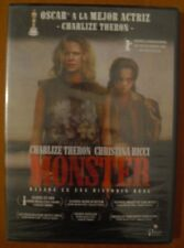 Monster [DVD] Patty Jenkis, Charlieze Theron, Christina Ricci NUEVO Y PRECINTADO