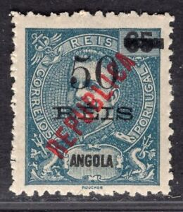 ANGOLA PORTUGAL 1914 STAMP Sc. # 183 MNH