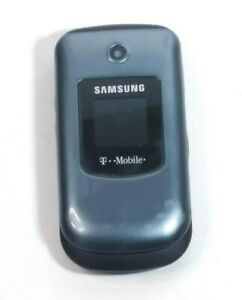Samsung SGH - T139 - Dark Blue (T-Mobile) Flip Phone with Battery