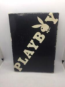 Vintage 70s Playboy Club Bar Tool Set Stainless Steel Teak Wood In Original Box
