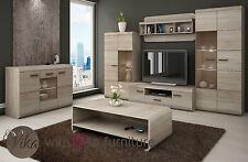Living Room Furniture Wall Unit Set LUCANO TV LCD VIKAFURNITURE