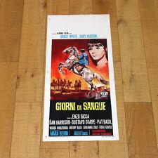 GIORNI DI SANGUE locandina poster Gary Hudson Grace White Gicca Palli AD12
