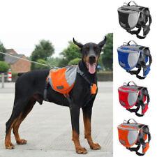 Multifunctional Pet Saddle Bag Travel Outdoor Backpack for Dog Hound Train Bag