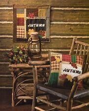 Autumn Leaves Quilt Pattern Pieced/Applique SH
