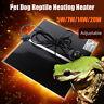 Pet Electric Adjustable Heat Pad Reptile Lizard Heating Mat Warmer Blanket  D