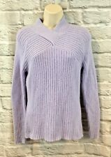 Sarah Spencer Women's Lavender Angora Blend Long Sleeve Sweater Size Small SOFT