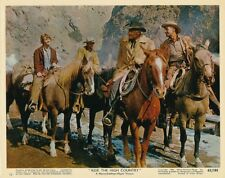 RANDOLPH SCOTT JOEL MCREA Original Vintage RIDE THE HIGH COUNTRY MGM Color Photo