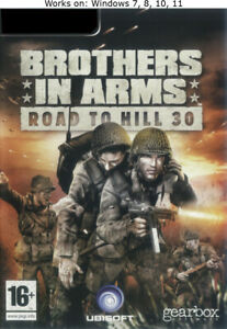 Brothers in Arms: Road to Hill 30 PC Game Windows 7 8 10 11