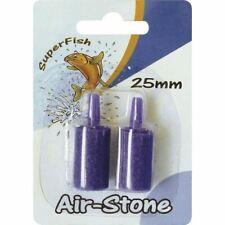 Superfish Airstone Cylindrical Blister 2pcs Air Line Pump Filter Aqua Part Fish