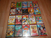 RARE MIX JOB LOT Of  20 Games Commodore 64 C64 CASSETTE GAMES