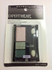 Maybelline EXPERT WEAR Eye Shadow,Perfect Pastels, Green Gardens #216 NEW.