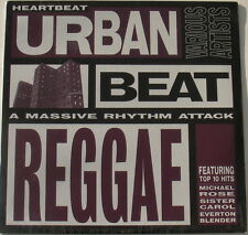 URBAN BEAT REGGAE Various Artists STILL SEALED! orig. 1996 Heartbeat vinyl album