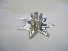 """CHOOSE: Gold & Silver Fairy Star Chime Candle Holder for 4"""" x 1/2"""" Candles Faery"""