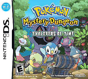 Pokemon Mystery Dungeon: Explorers of Time (Nintendo DS, 2008) GAME CARD ONLY