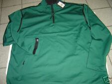 NEW MENS GREG NORMAN HUNTER GREEN PULLOVER 1/2 ZIP JACKET SIZE XL  $125