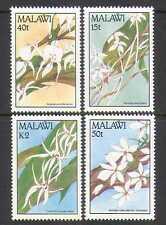 MALAWI 1990 ORCHIDEE 4v Set ref:n14843