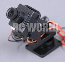 DRONE UAV Color CAMERA  FPV  PAN/TILT System For HEAD TRACKING  CMOS 752 X 582