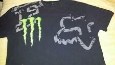 Monster Energy/Fox Racing Motocross Ricky Carmichael #4 XXL Black Shirt RARE