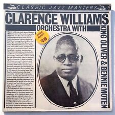 Sealed CLARENCE WILLIAMS AND HIS ORCHESTRA: Self Titled LP CLASSIC JAZZ Germany