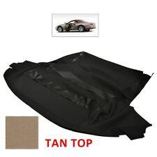 New Jaguar XK8 / XKR Convertible Soft Top TAN Stayfast Canvas Cloth 1996-2006