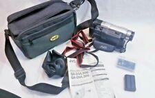 JVC Digital Video Camera bundle with camera, camera strap, Instructions, remote,